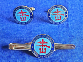 COMBINED OPERATIONS CUFF LINK AND TIE GRIP / CLIP SET